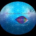 Encaustic Art Coach embleem
